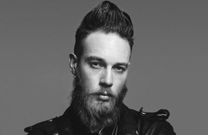 Rockabilly Quiff, Textur und Definition Billy Huxley